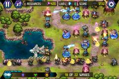 Tower Defense: Lost Earth HD for iOS
