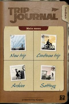 Trip Journal (iPhone)