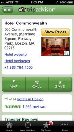 TripAdvisor for iPhone/iPad