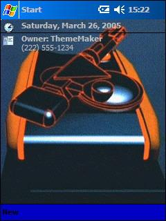 Tron - Tank 3 Theme for Pocket PC