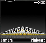 Tux army black Theme