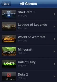 TwitchTV for iOS