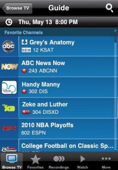 AT&T U-verse for iPhone