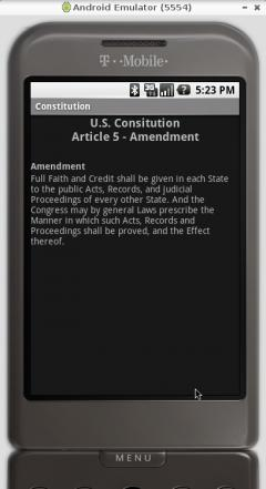 US Constitution (Android)