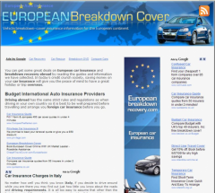 Ultimate Guide To Driving in Europe - Firefox Addon