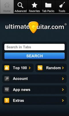 Ultimate Guitar Tabs for Android