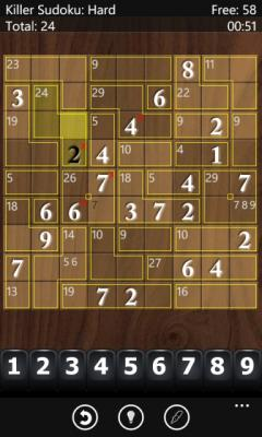 Ultimate Sudoku Lite (Windows Phone)