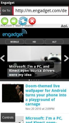 UltraLight Web Browser