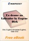 Un drame au Labrador for MobiPocket Reader