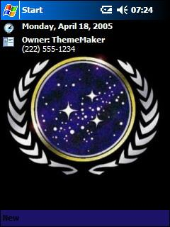 United Federation of Planets Theme for Pocket PC