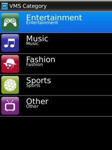 VMS for BlackBerry