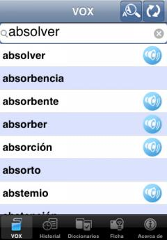 VOX Catalan-Spanish & Spanish-Catalan Dictionary (iPhone/iPad)