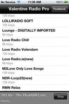 Valentine Radio Pro for iPhone/iPad