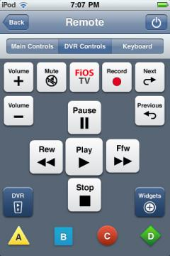 Verizon FiOS Mobile Remote