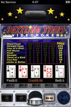 VideoPoker Deluxe (iPhone)