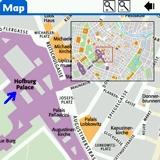 Vienna DK Eyewitness Top 10 Travel Guide & Map (Palm OS)
