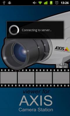 Viewer for Axis Camera Station for Android