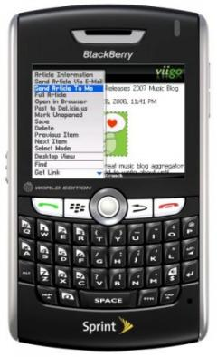 Viigo for BlackBerry