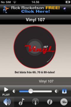 Vinyl 107 (iPhone)