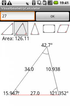 Visual Geometry Calculator