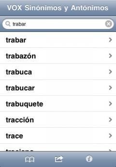 Vox Spanish Language Thesaurus (iPhone/iPad)