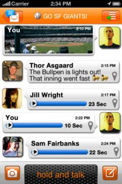 Voxer Walkie-Talkie PTT for iPhone