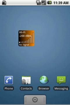 WIFI Signal Widget