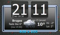 WMD-Clock Widget for Androkkid
