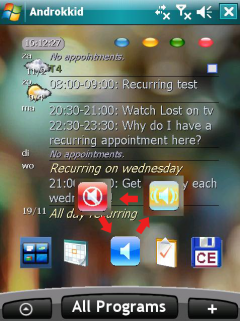 WMD-Profile Widget for Androkkid