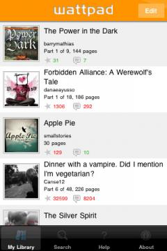 Wattpad (iPhone/iPad)