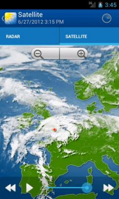 WeatherPro for Android Phones