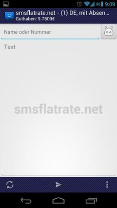WebSMS: smsflatrate.net Connector