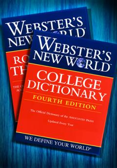 Webster's New World College Dictionary and Roget's A-Z Thesaurus (iPhone/iPad)