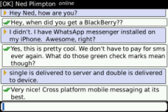 WhatsApp Messenger (BlackBerry)