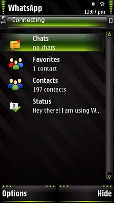 WhatsApp Messenger (Symbian)