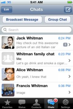 WhatsApp Messenger (iPhone)