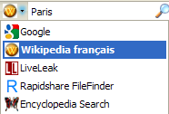 Wikipedia (French) - Firefox Addon