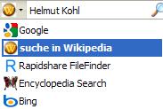 Wikipedia (German) - Firefox Addon
