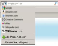 Wiktionary (en) - Firefox Addon