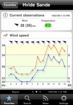 Windfinder Pro (iPhone)