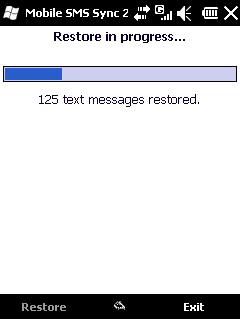 Windows Mobile SMS Sync