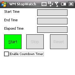 WMStopWatch