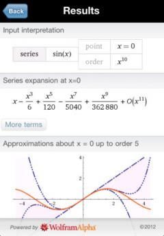 Wolfram Calculus Course Assistant for iPhone/iPad
