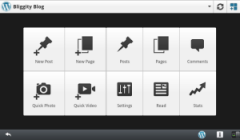 WordPress (BlackBerry PlayBook)