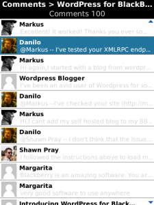 WordPress (BlackBerry)