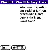 World History Trivia (Palm OS)