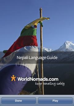 World Nomads Nepali Language Guide