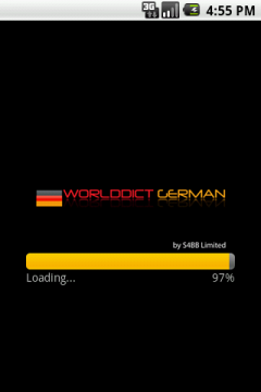 WorldDict German for Android