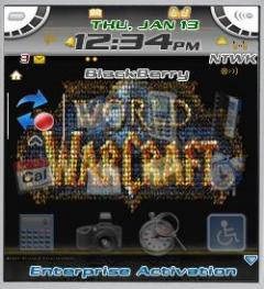 Worldcraft 2 Theme for Blackberry 7100