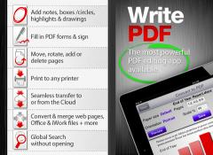 WritePDF for iPad